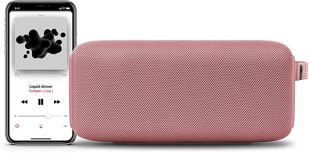Fresh N Rebel Bold M Dusty Pink Bluetooth Speaker - 2