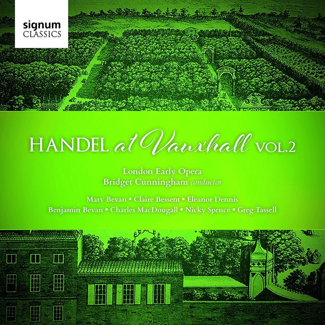 Handel at Vauxhall - Volume 2 - 1