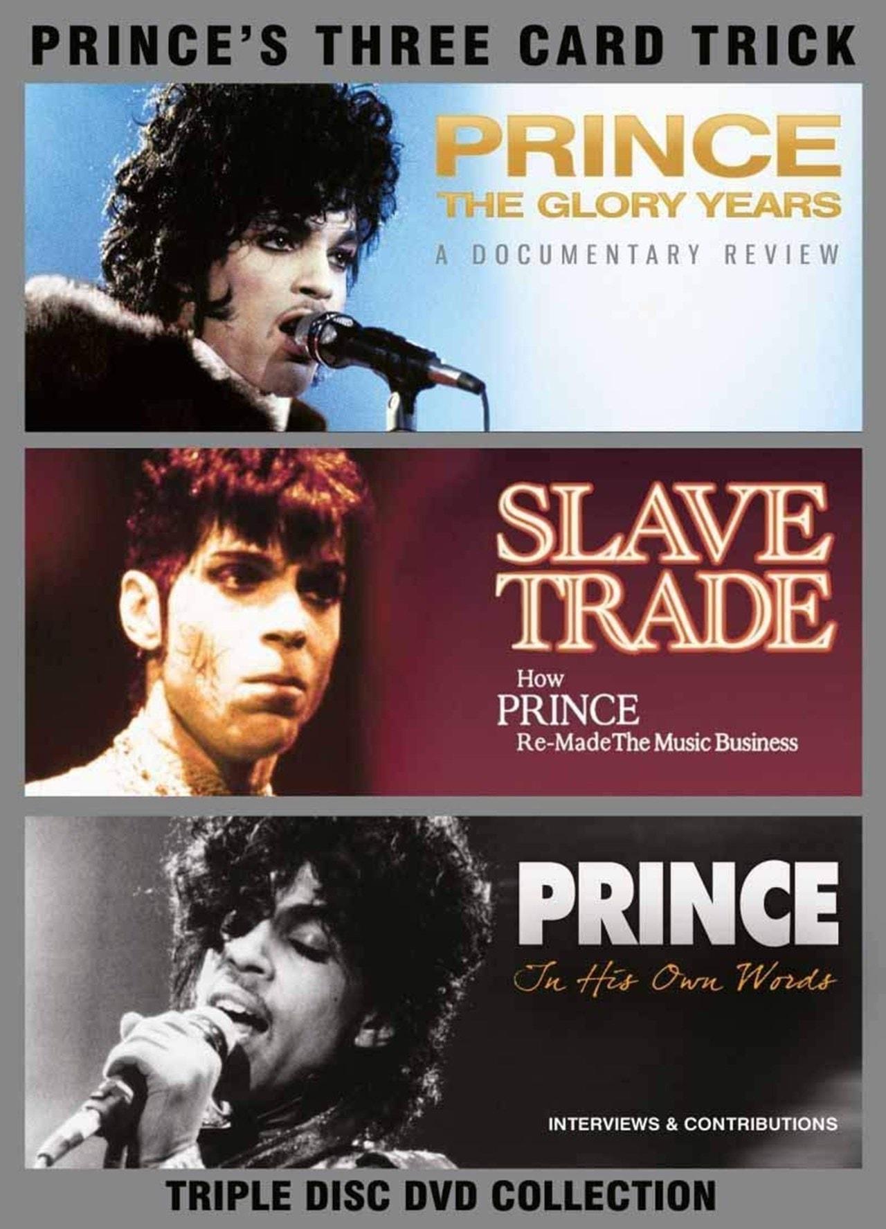 Prince: Three Card Trick - 1