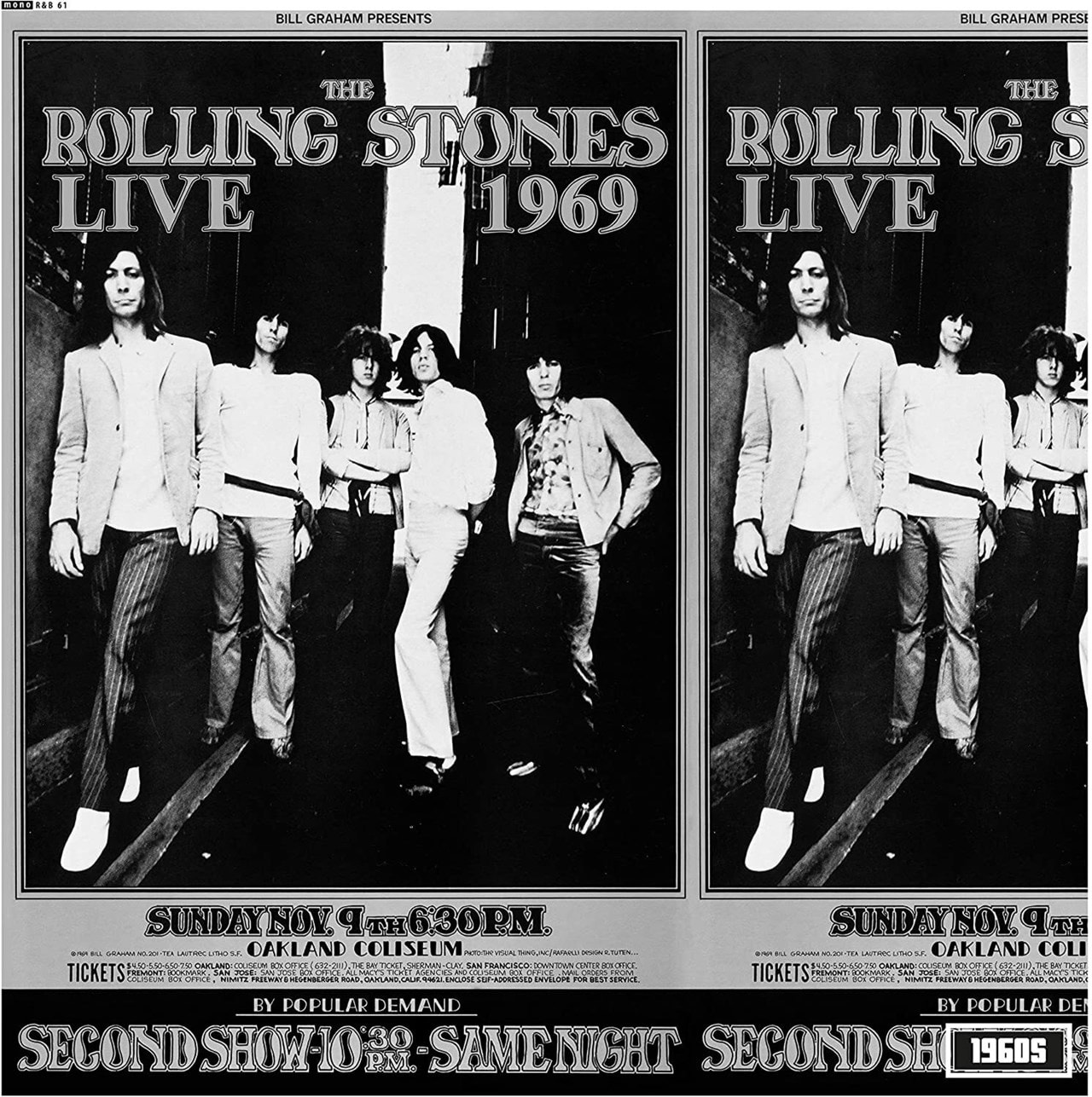 Live at the Oakland Coliseum 1969 - 1