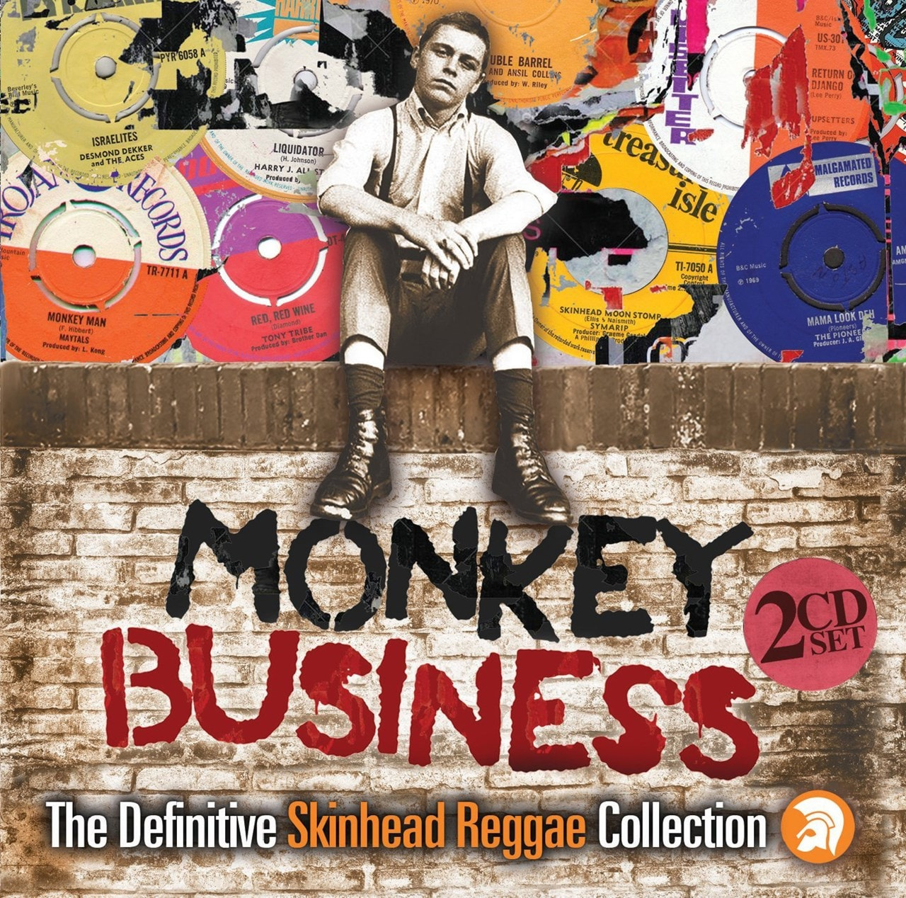 Monkey Business: The Definitive Skinhead Reggae Collection - 1