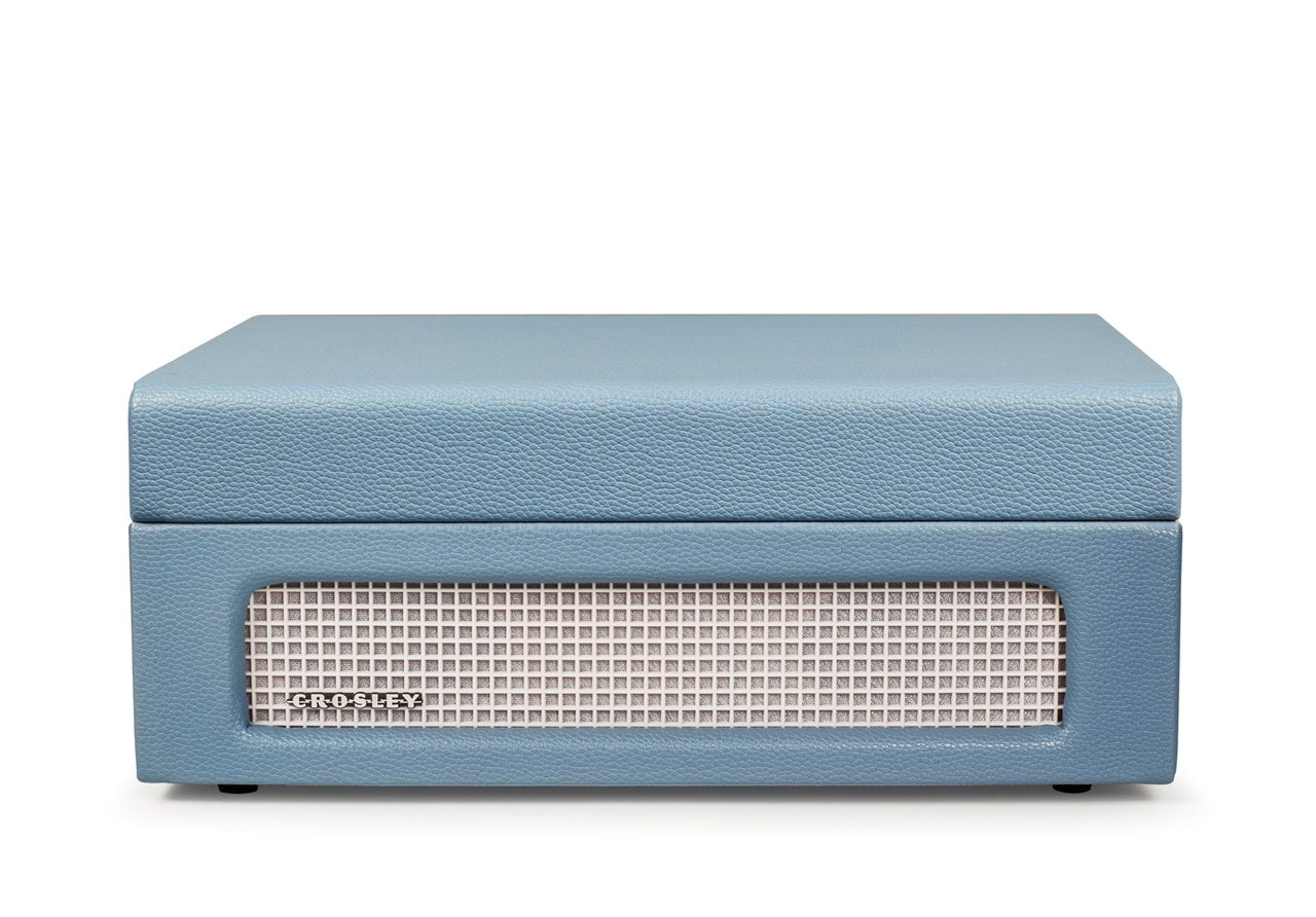 Crosley Voyager Washed Blue Turntable - 3
