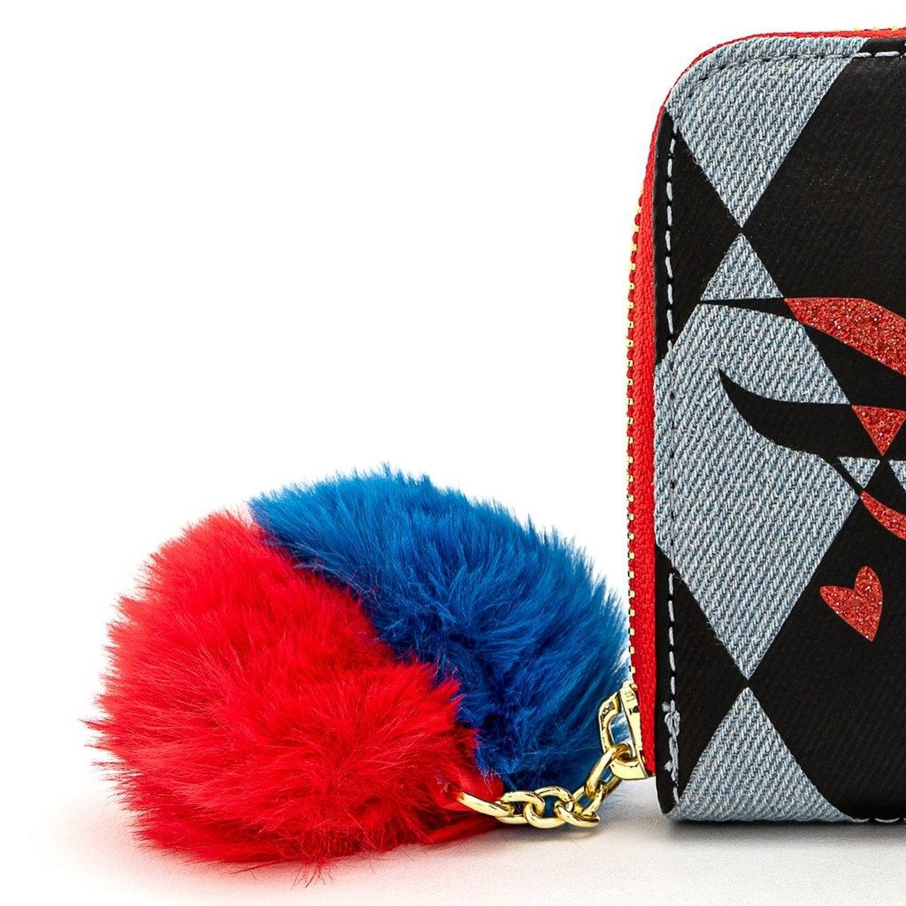 Loungefly X DC Comics Birds Of Prey Harley Eyes Zip Around Wallet - 5