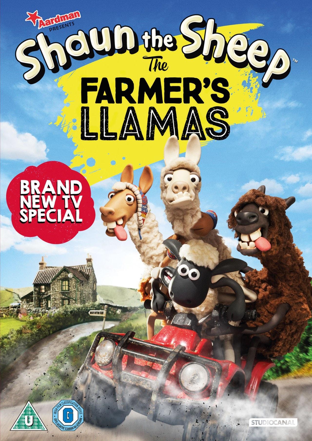 Shaun the Sheep in the Farmer's Llamas - 1