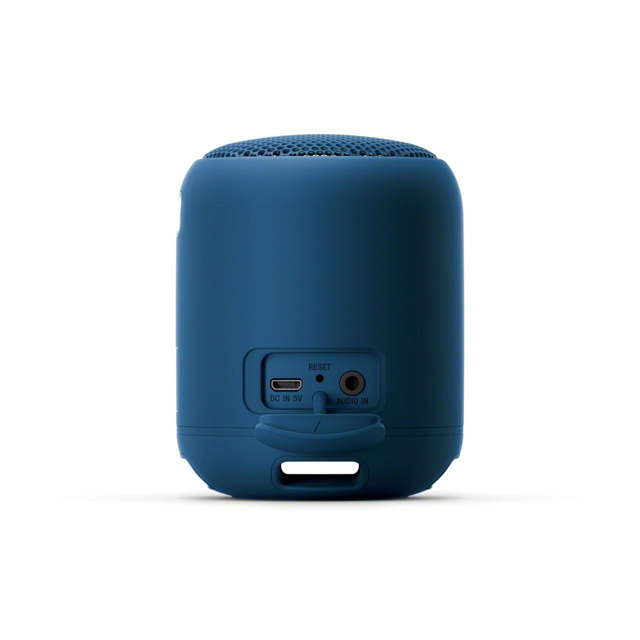 Sony SRSXB12 Blue Bluetooth Speaker - 2