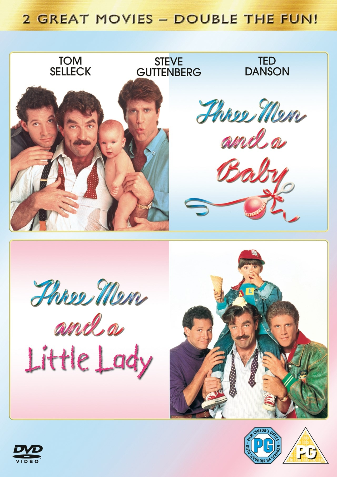 Three Men and a Baby/Three Men and a Little Lady - 1