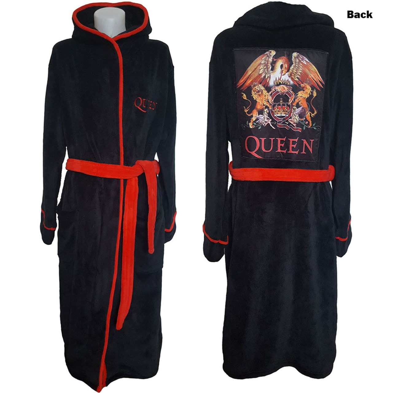 Queen: Classic Crest Bathrobe (Small) - 1
