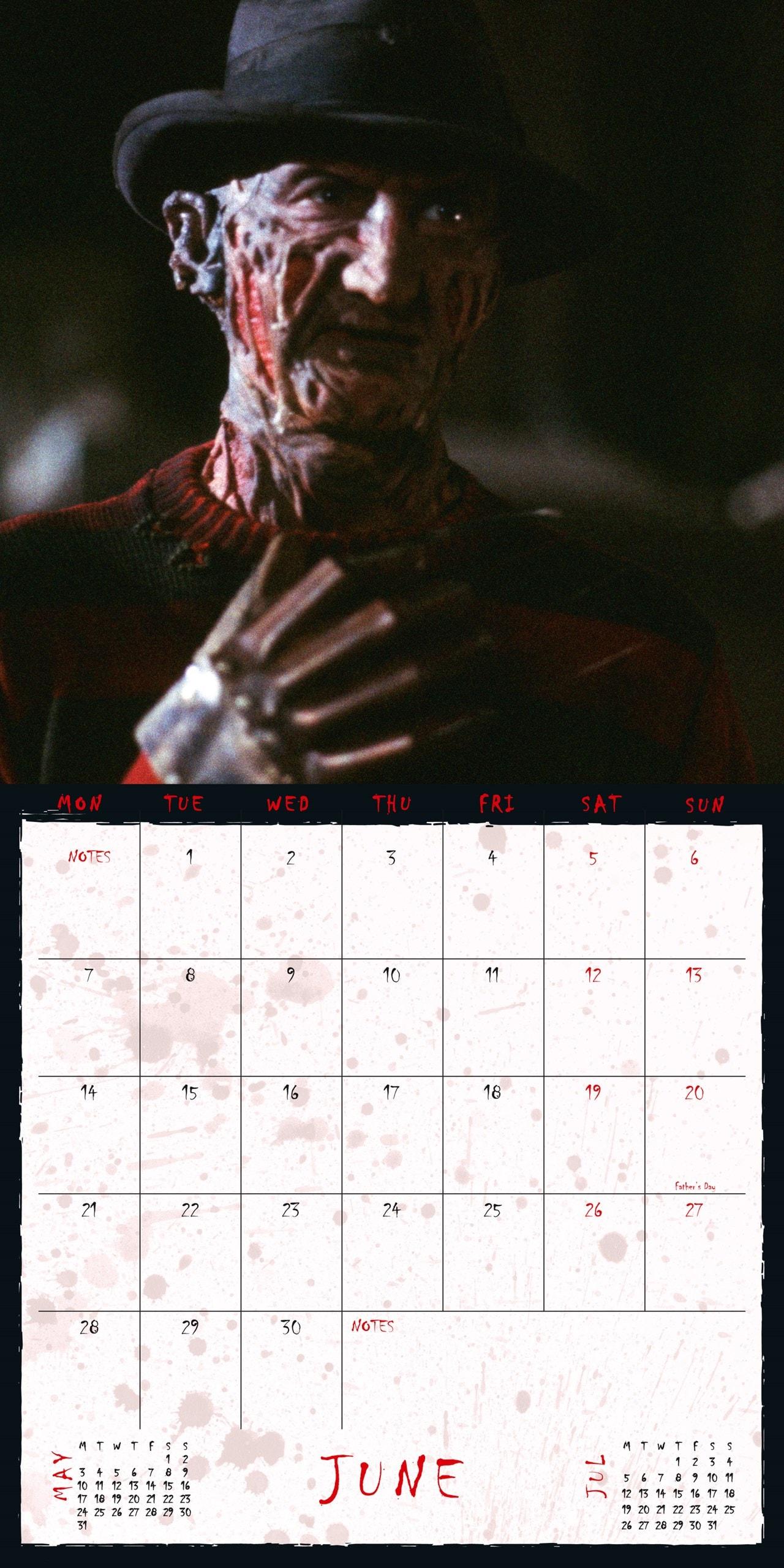 A Nightmare On Elm Street: Square 2021 Calendar - 2