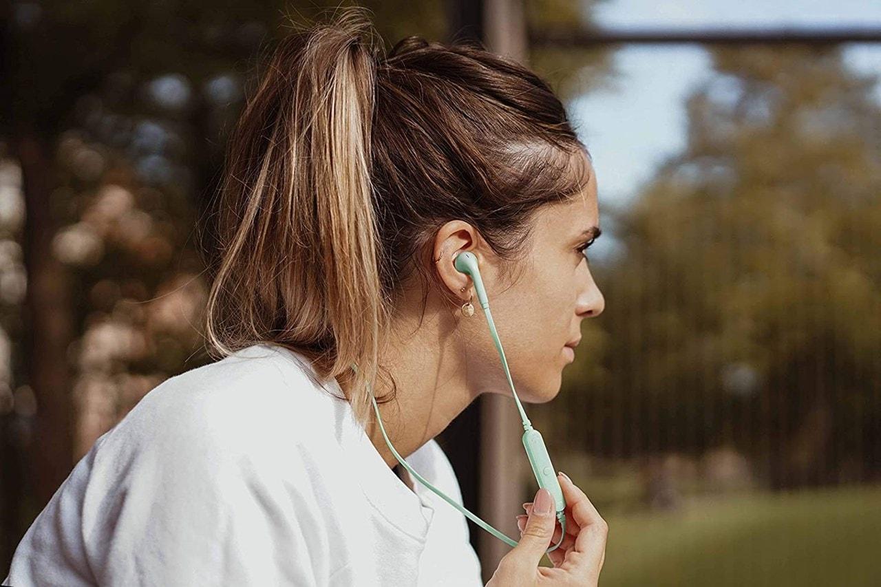 Fresh N Rebel Vibe Wireless Peppermint Bluetooth Earphones - 5