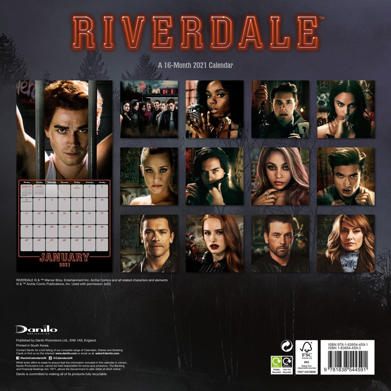 Riverdale: Square 2021 Calendar - 3