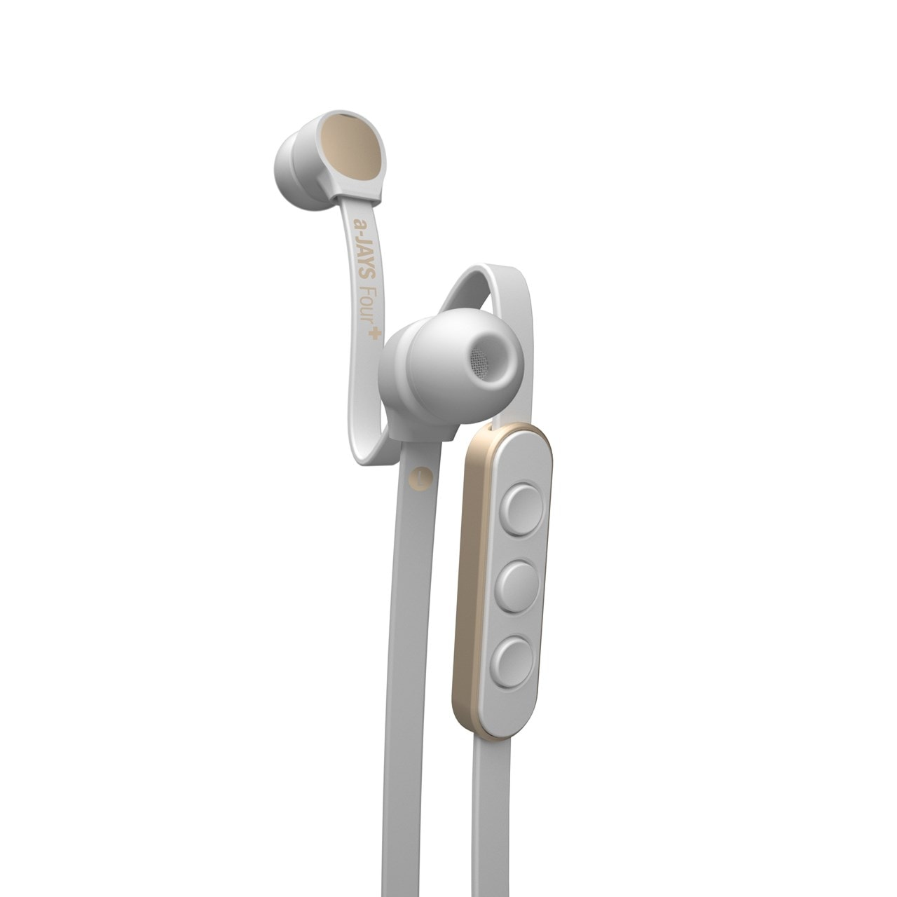 Jays A-Jays Four+ iOS White/Gold Earphones - 1