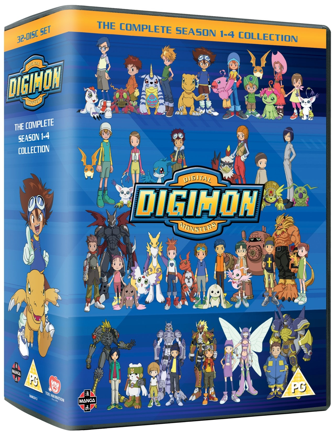 Digimon - Digital Monsters: Seasons 1-4 - 2