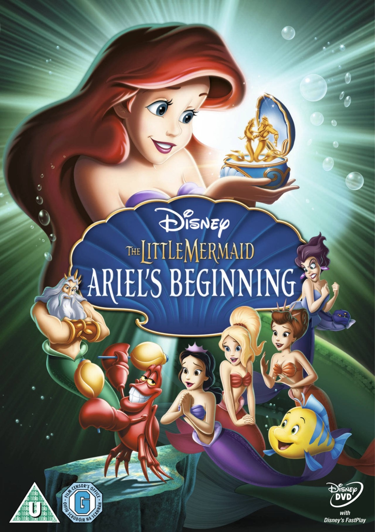 The Little Mermaid - Ariel's Beginning - 1