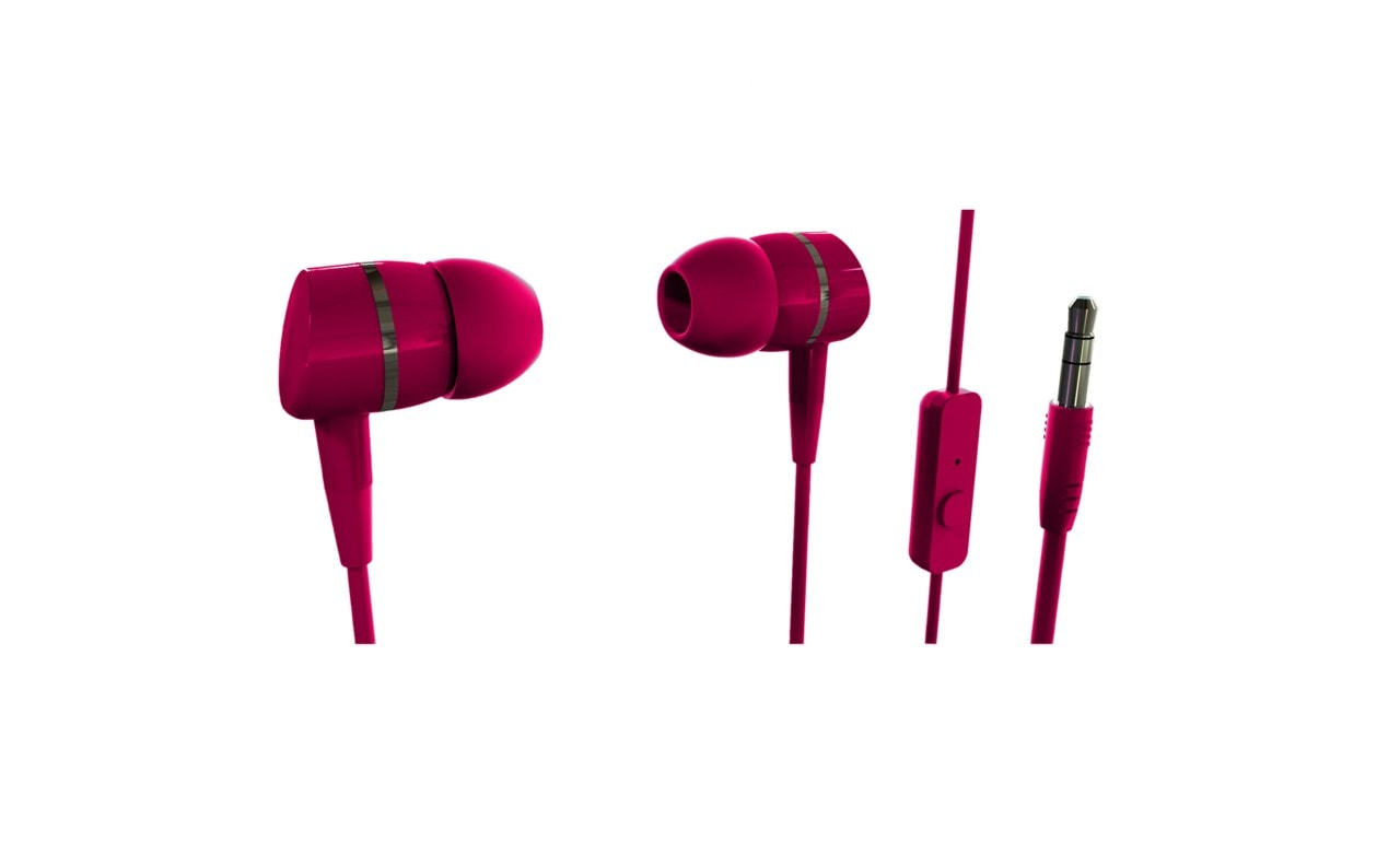 Vivanco Smartsound Berry Earphones W/Mic - 1