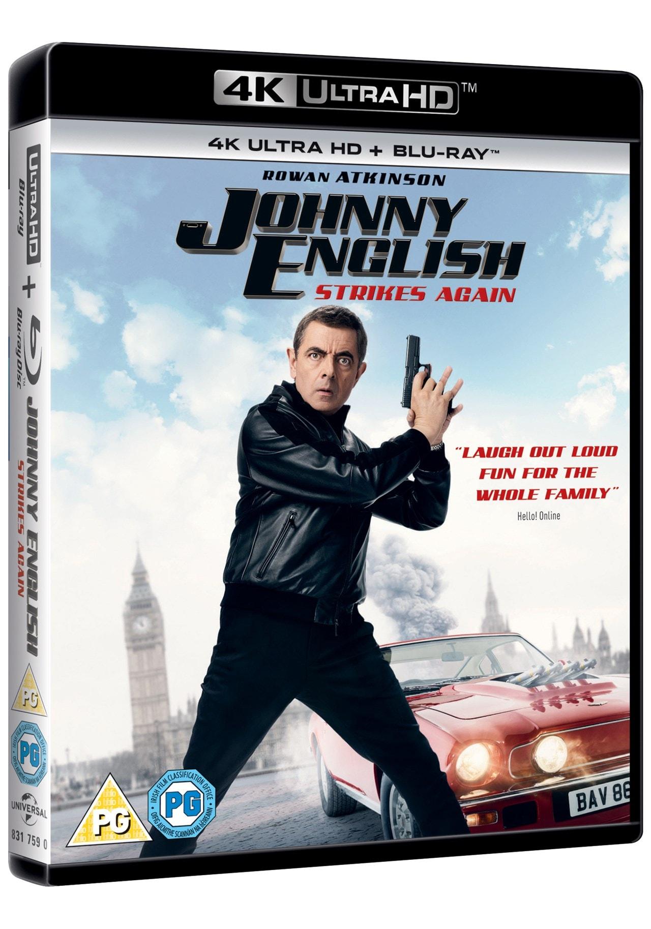 Johnny English Strikes Again - 2