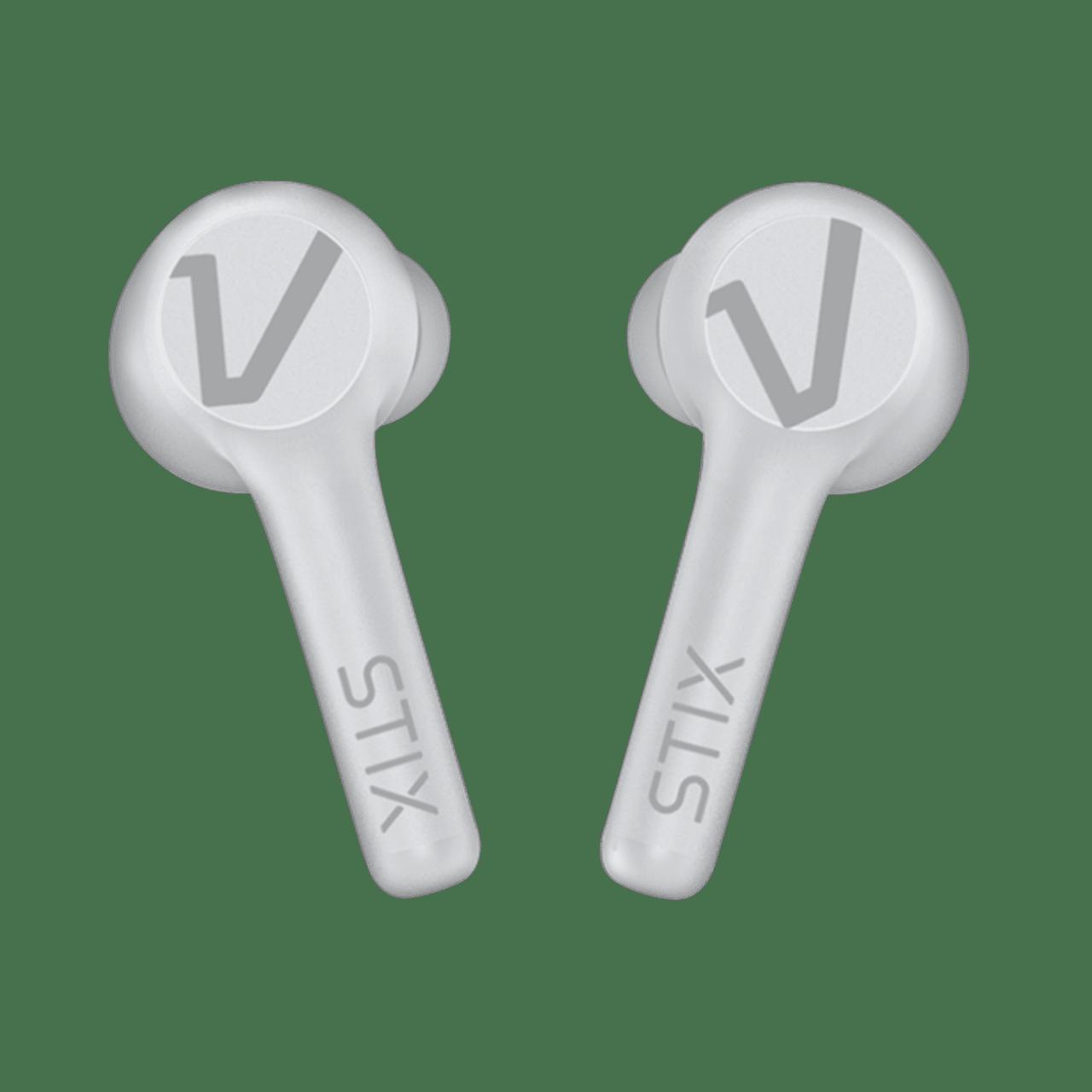 Veho STIX Ice White True Wireless Bluetooth Earphones - 1