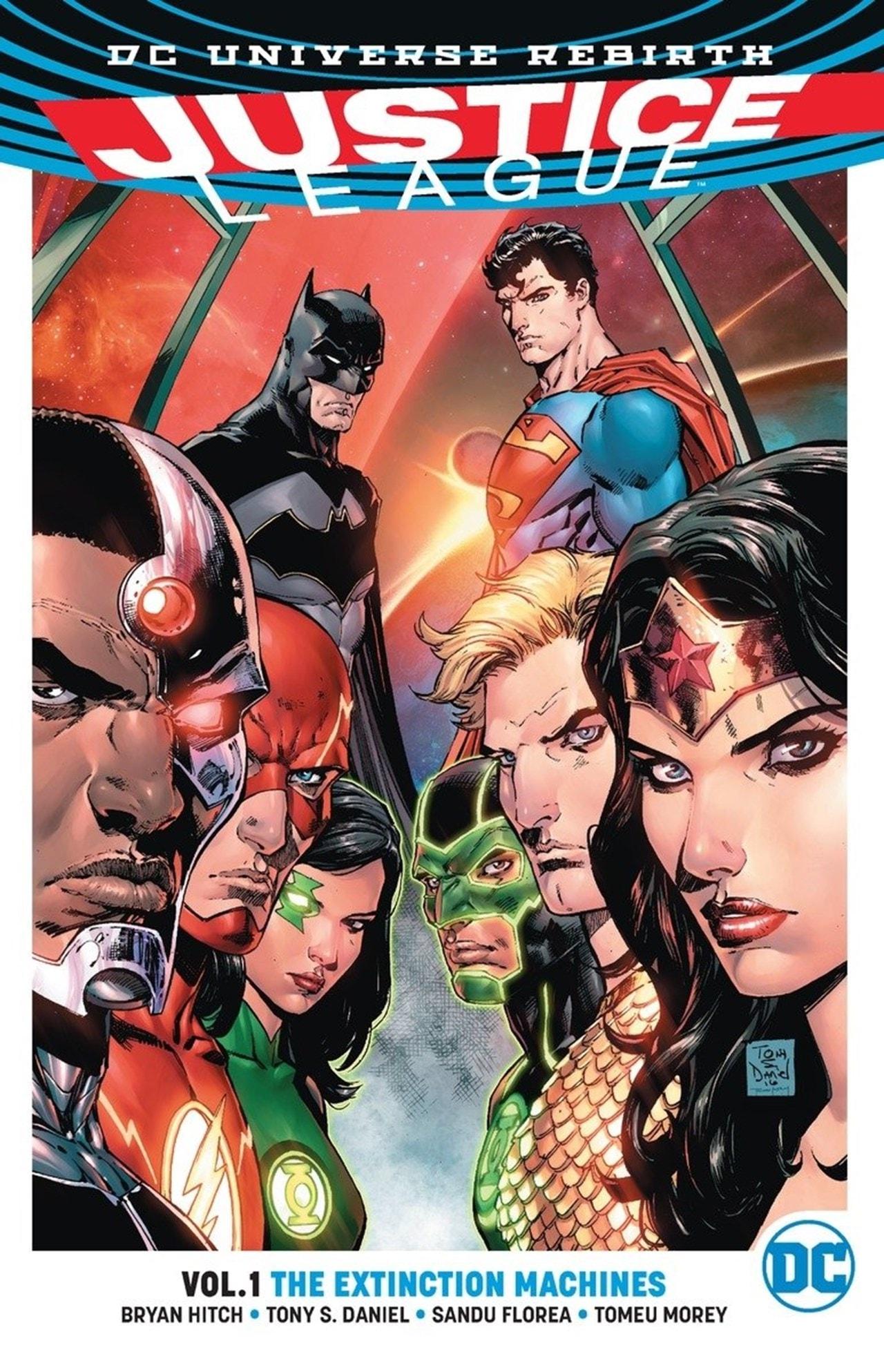 Justice League: Volume 1: Extinction Machine (Rebirth) - 1