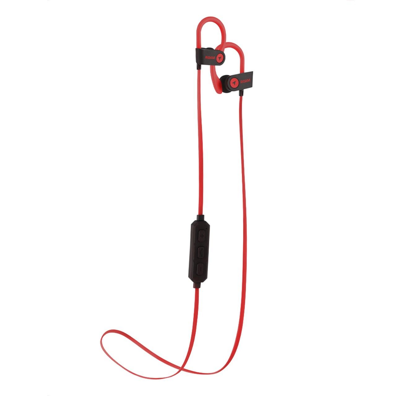 Roam Sport Ear Hook Red Bluetooth Earphones - 1