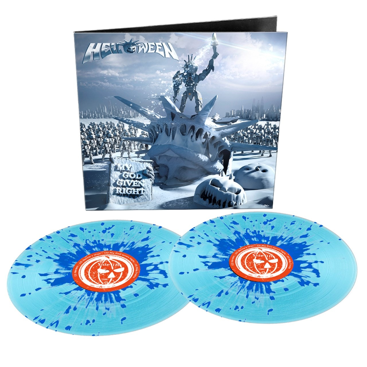 My God-given Right Limited Edition Gatefold Blue Vinyl - 1