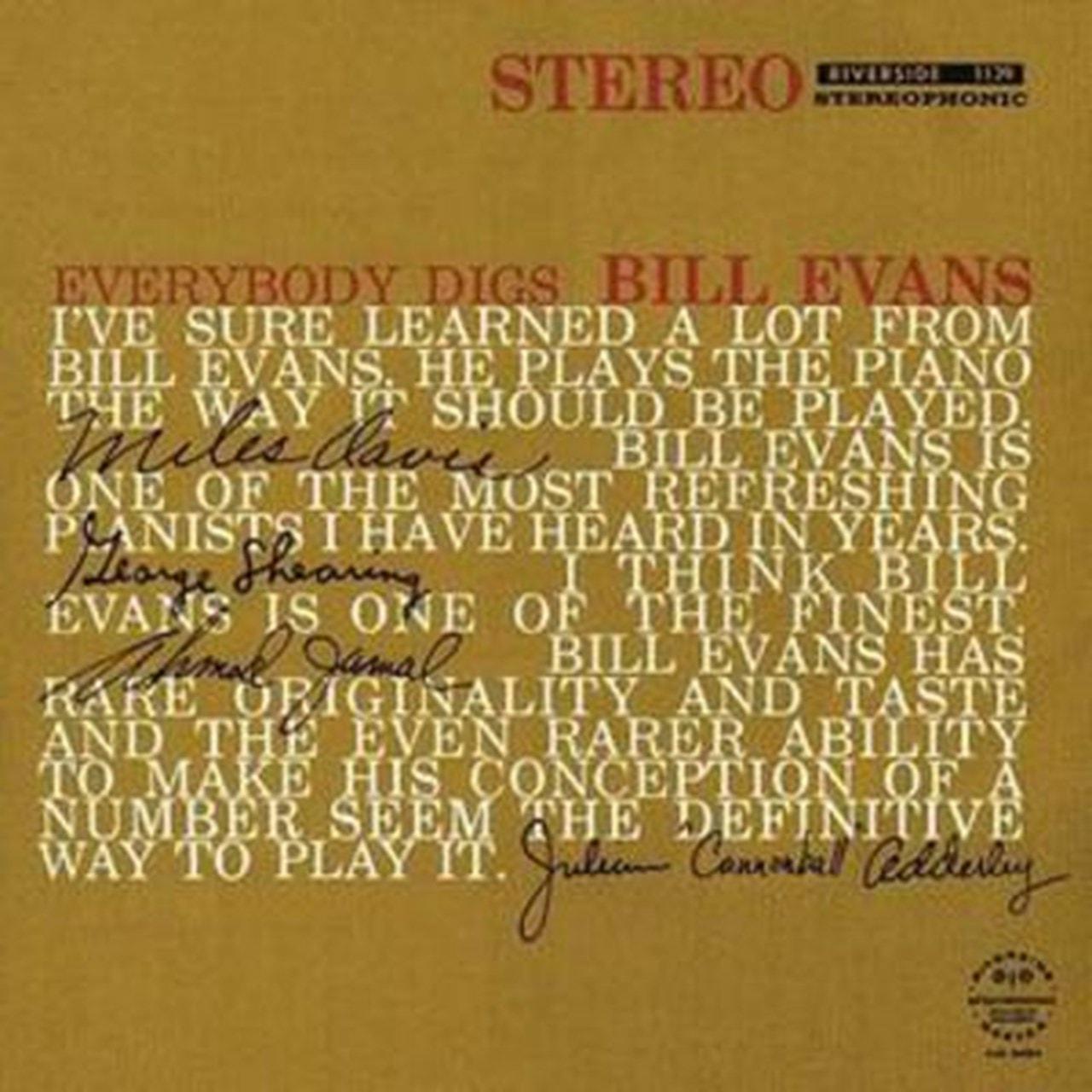 Everybody Digs Bill Evans - 1