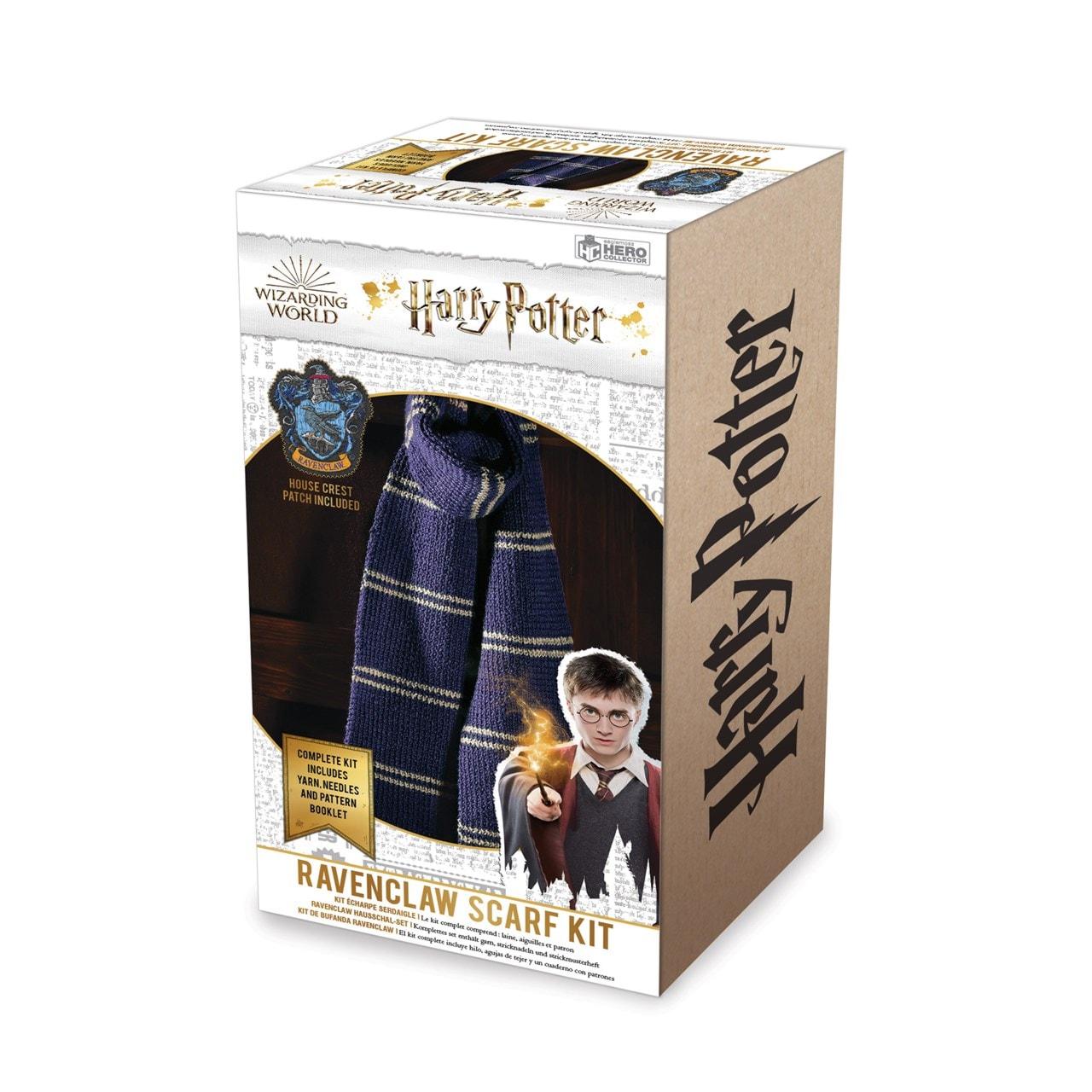 Ravenclaw House Scarf: Harry Potter Knit Kit - 5