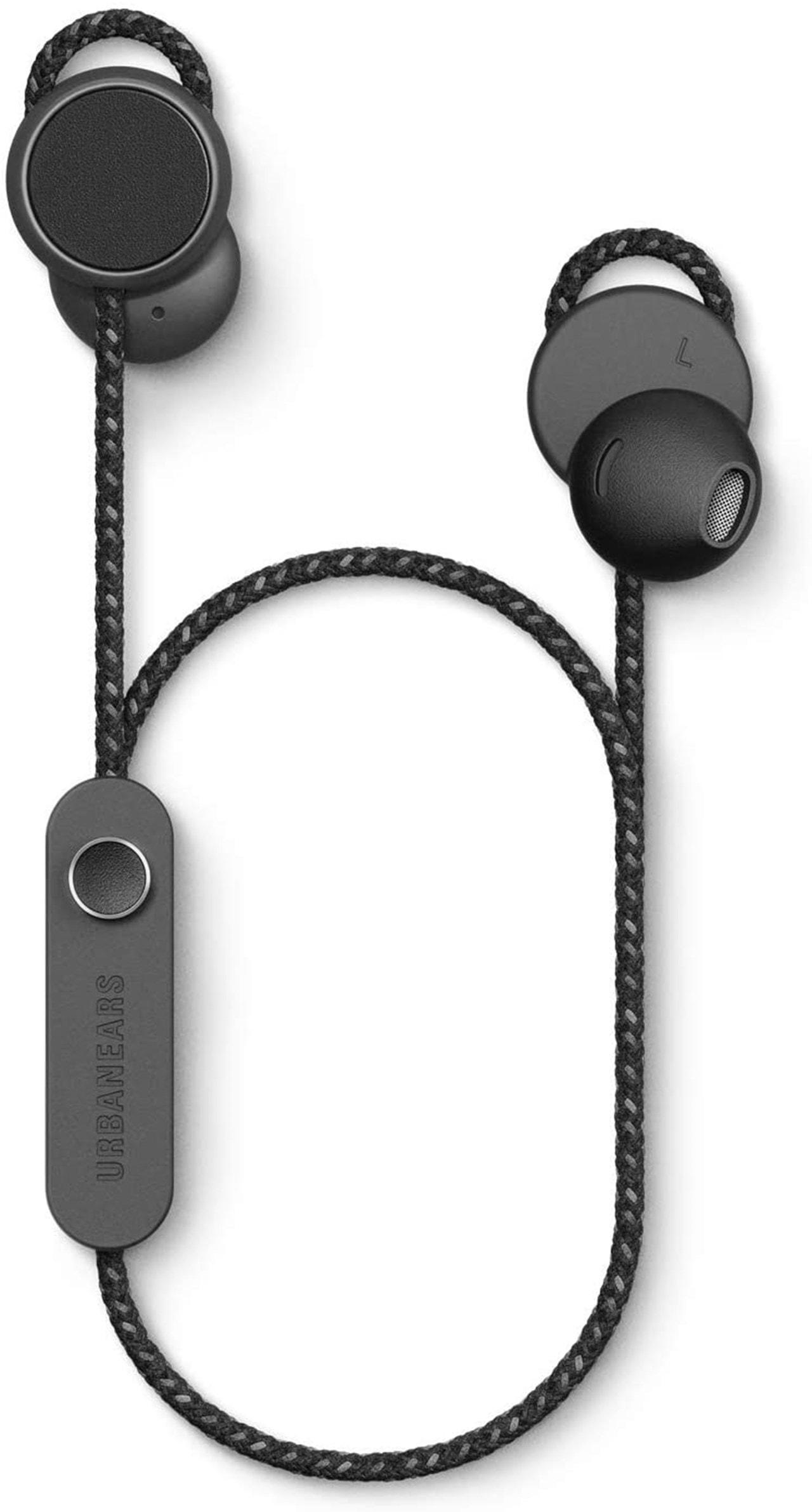 Urbanears Jakan Charcoal Black Bluetooth Earphones - 1