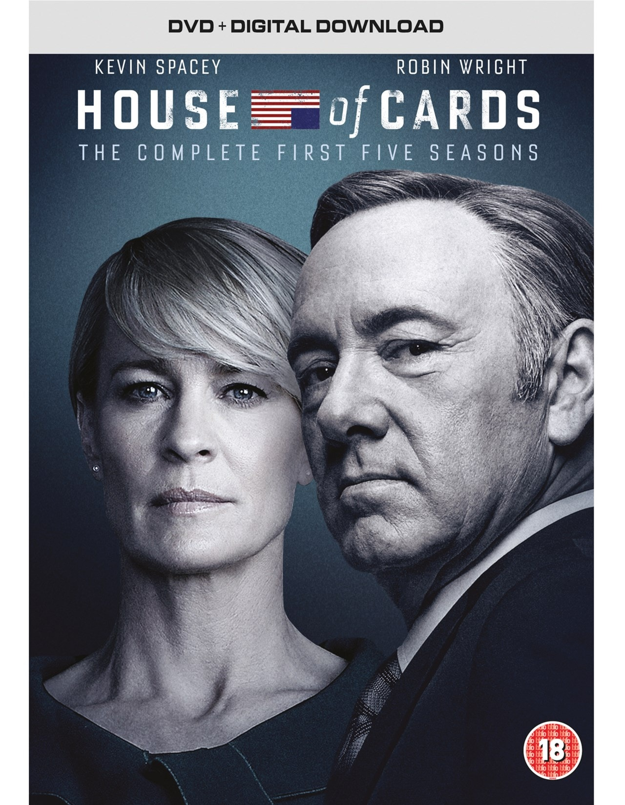 House Of Cards Seasons 1 5 Dvd Box Set Free Shipping Over 20 Hmv Store