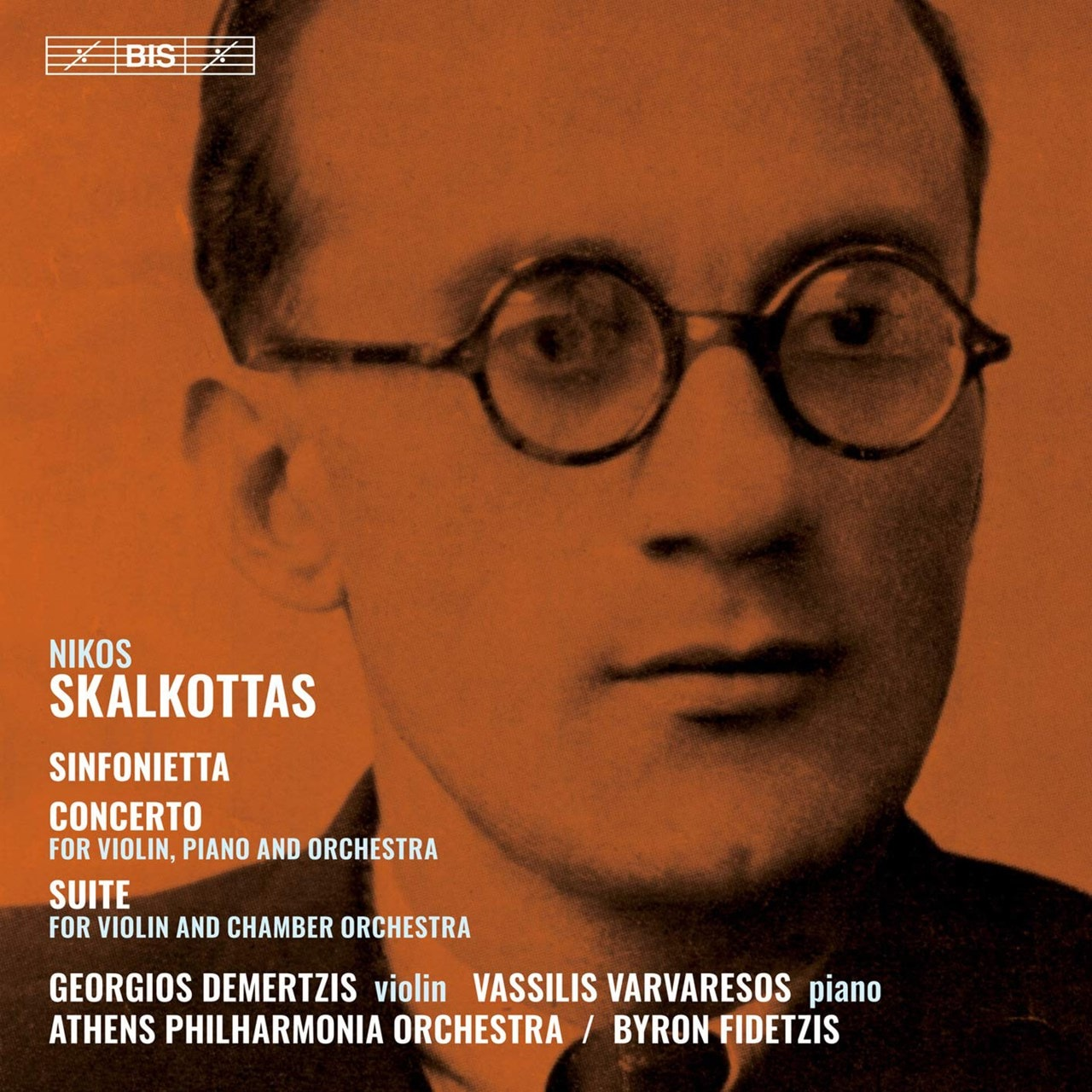 Nikos Skalkottas: Sinfonietta/Concerto/Suite - 1