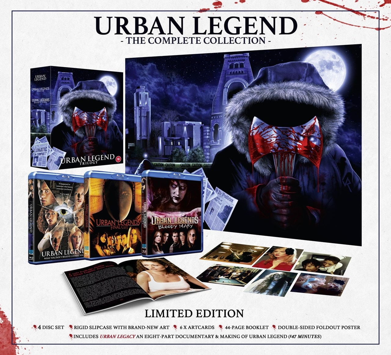 Urban Legend Trilogy Limited Edition - 1