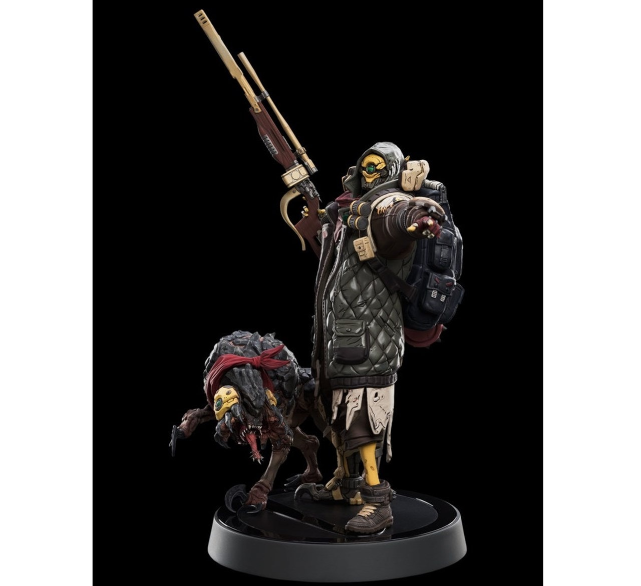 Fl4K: Borderlands 3: Weta Workshop Figurine - 1