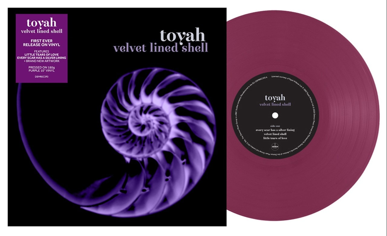Velvet Lined Shell - Limited Edition Coloured Vinyl - 1