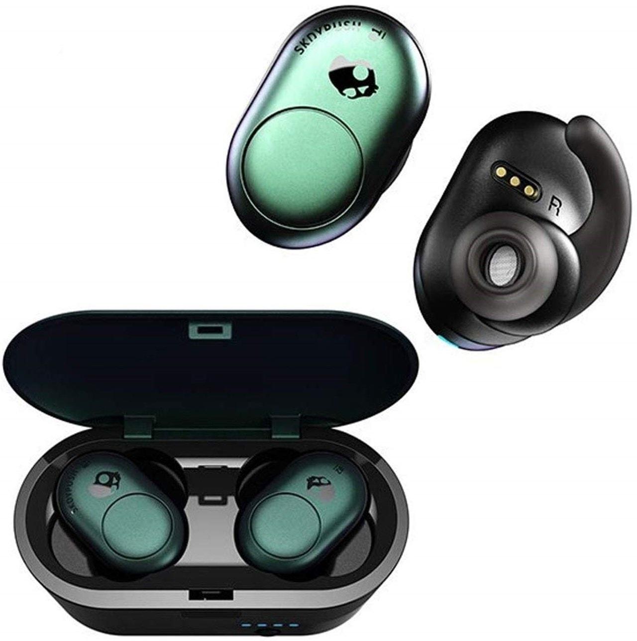 Skullcandy Push Psycho Tropical True Wireless Bluetooth Earphones - 3