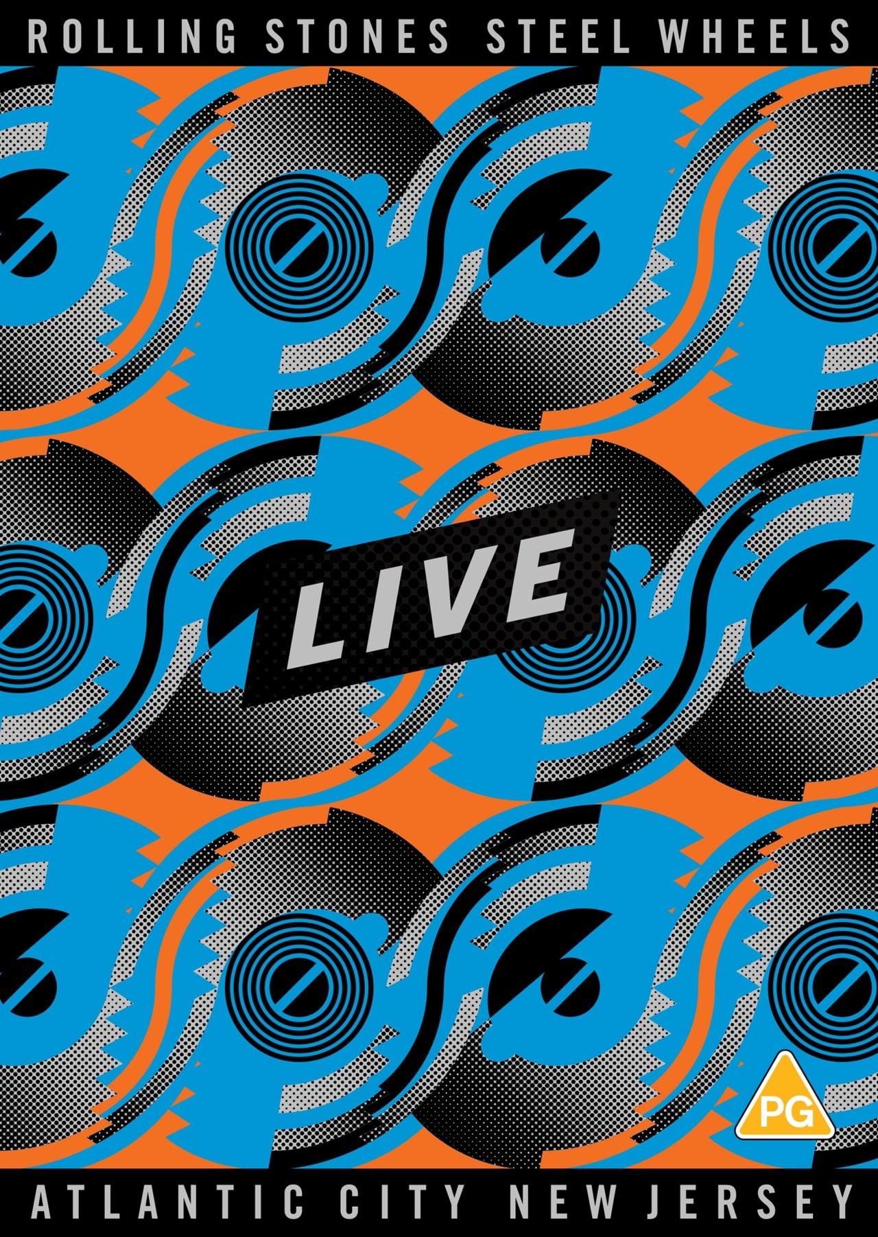 The Rolling Stones: Steel Wheels Live - Atlantic City, New Jersey - 2
