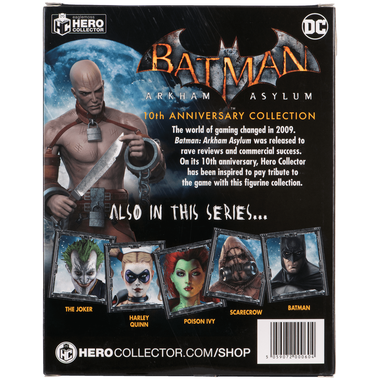Zsasz Batman Arkham Asylum 1:16 Figurine With Magazine: Hero Collector - 2