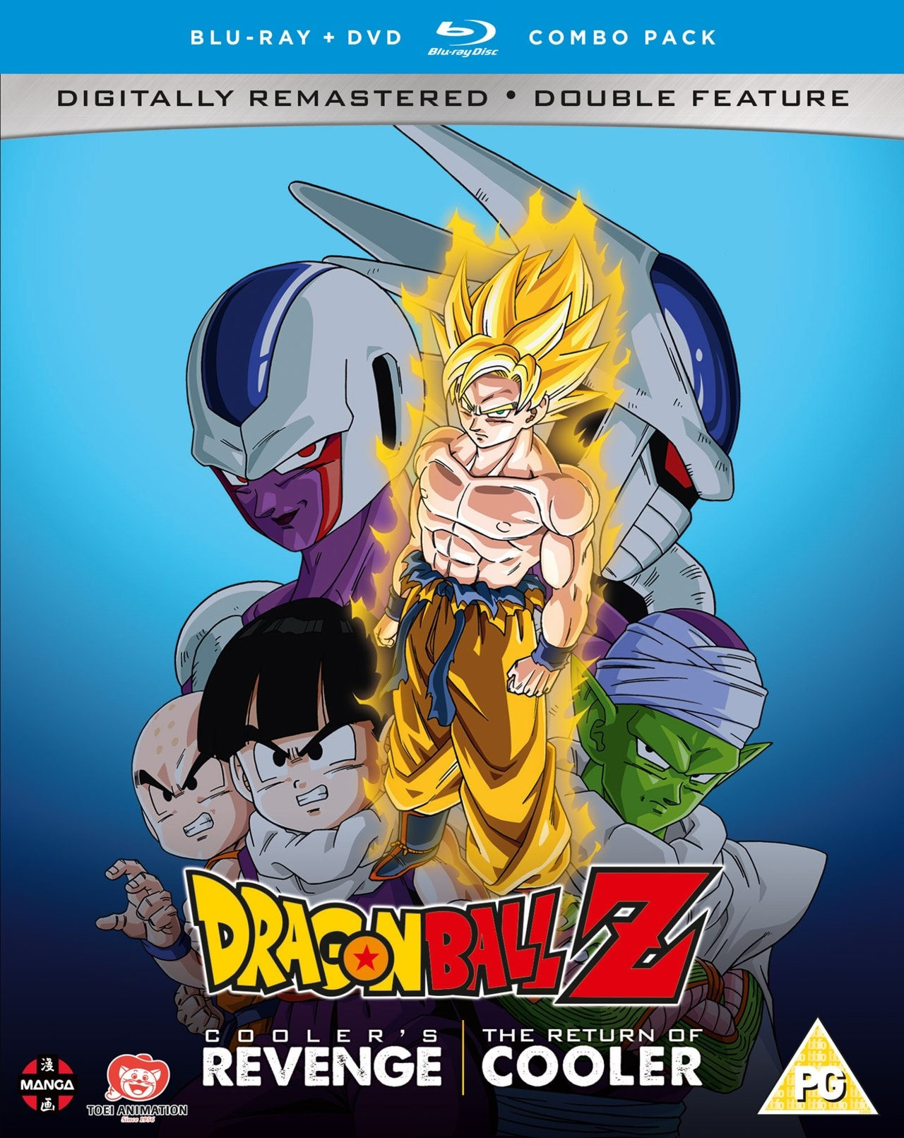 Dragonball Z: Cooler's Revenge/The Return of Cooler - 1