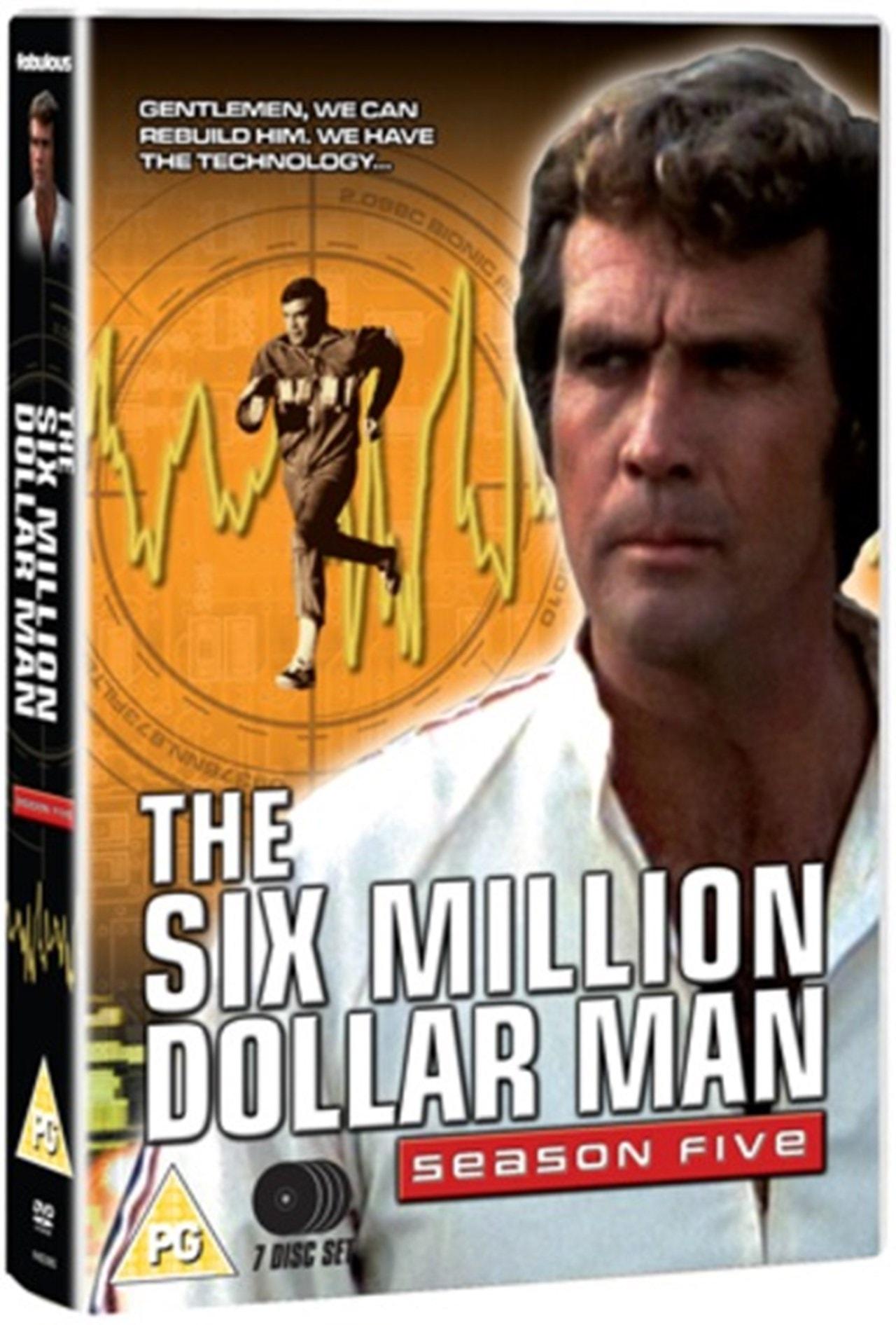 The Six Million Dollar Man: Series 5 - 1