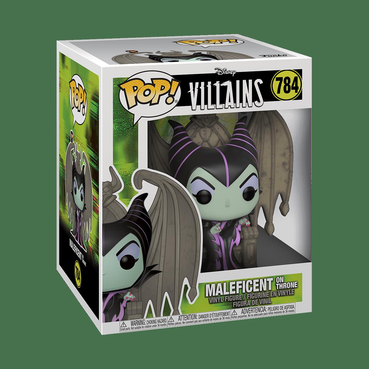 Maleficent On Throne (784) Disney Villains Pop Vinyl Deluxe - 2