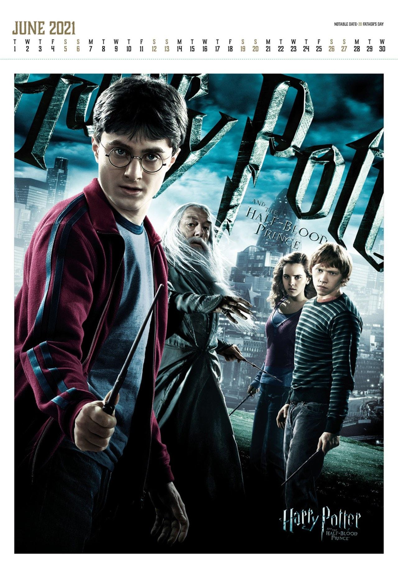 Harry Potter: A3 Deluxe 2021 Calendar - 2