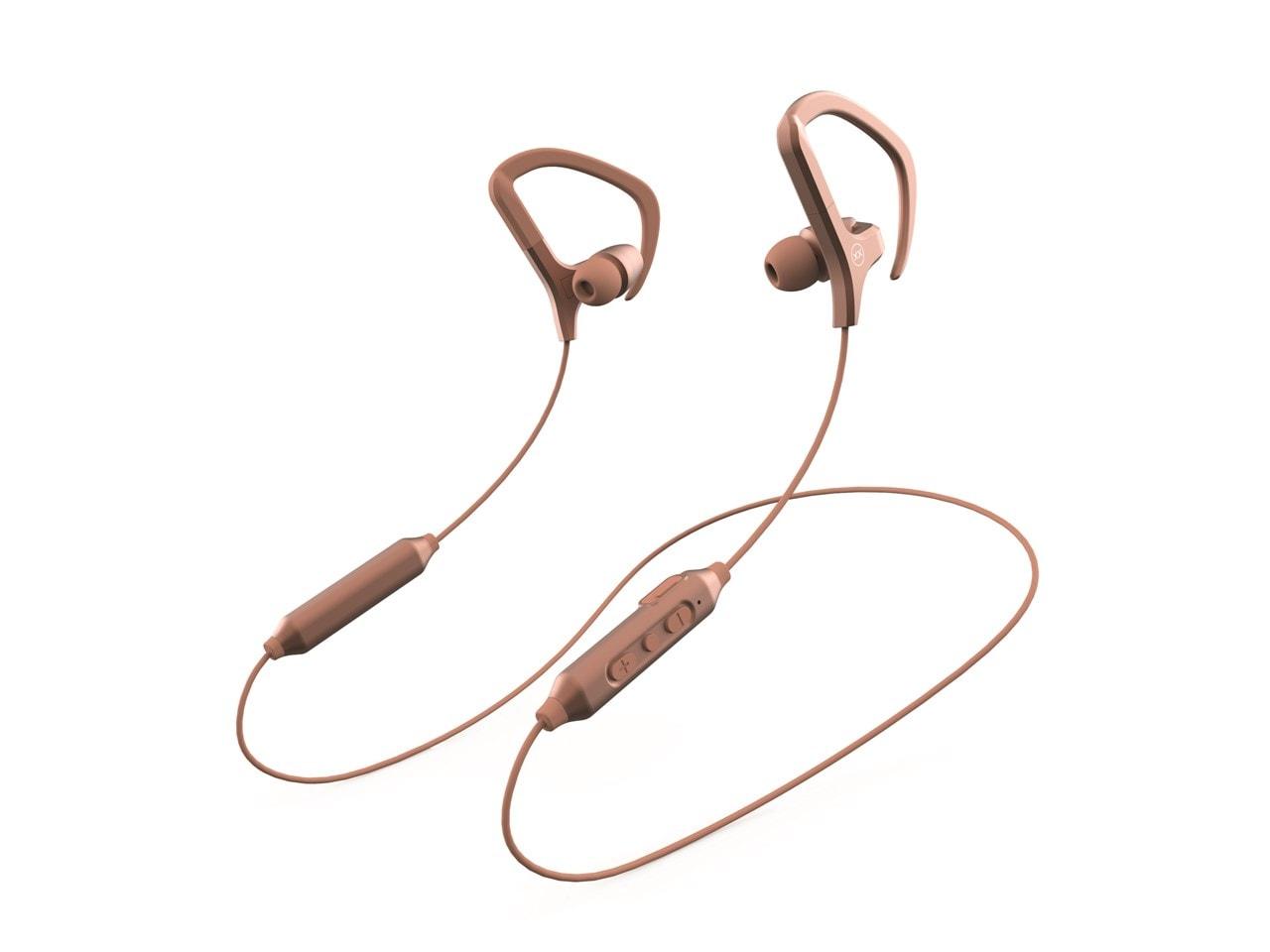Mixx Audio Cardio Air Rose Gold Sports Bluetooth Earphones - 1
