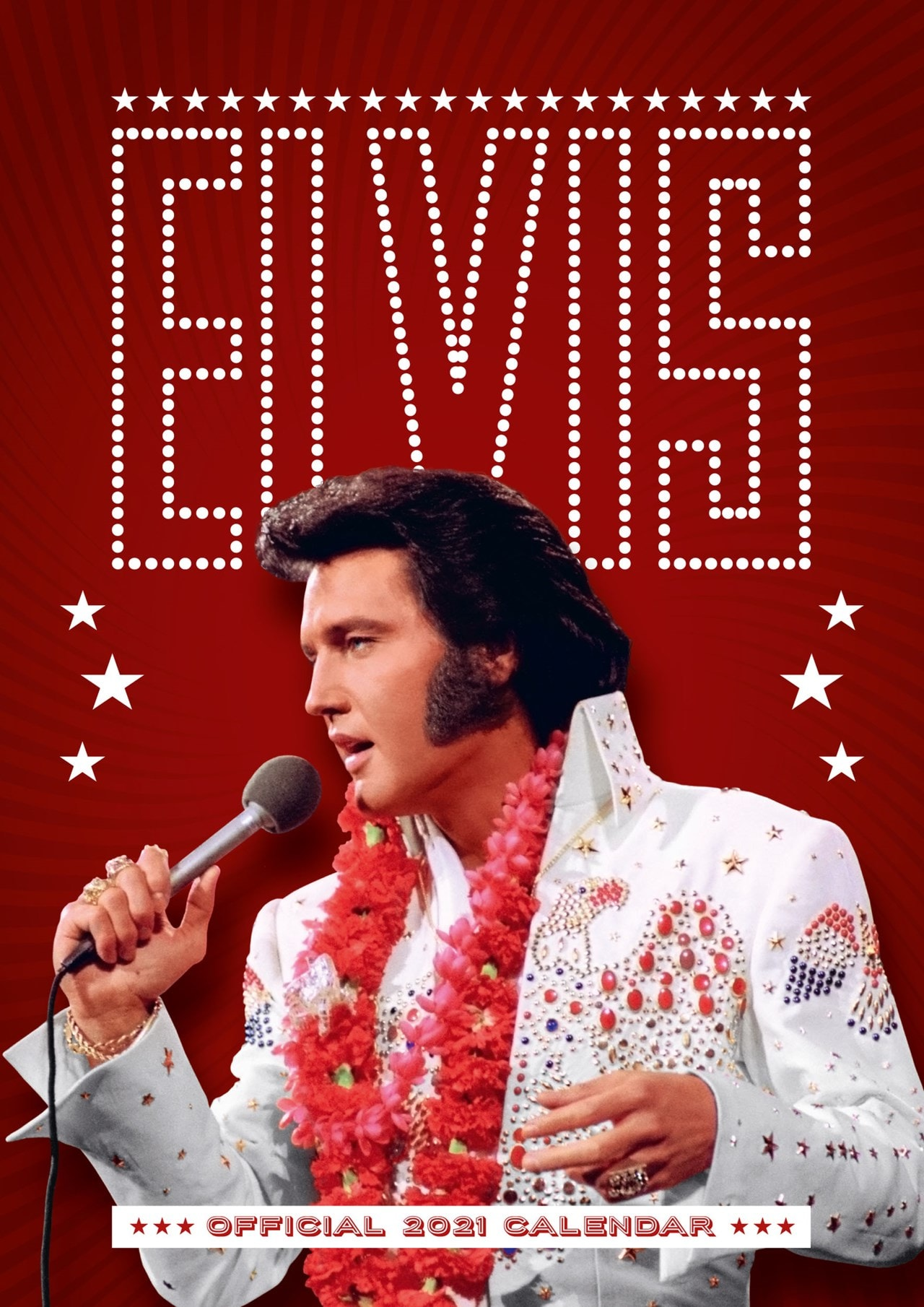 Elvis Presley: A3 2021 Calendar - 1