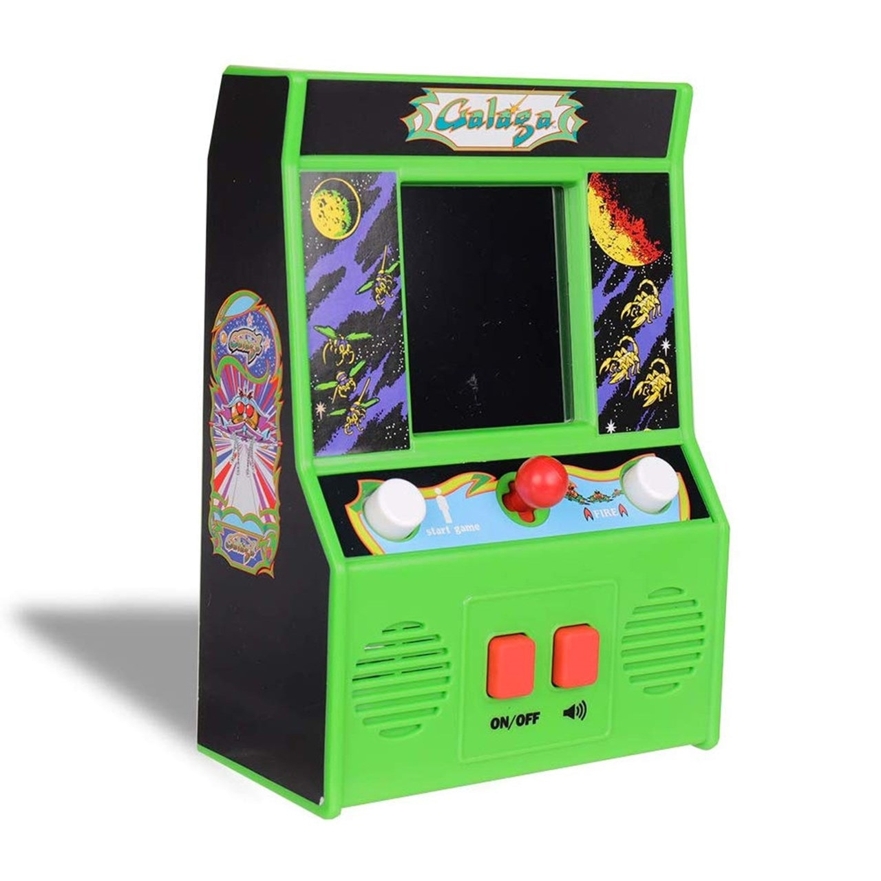 Galaga: Mini-Arcade Electronic Game - 1