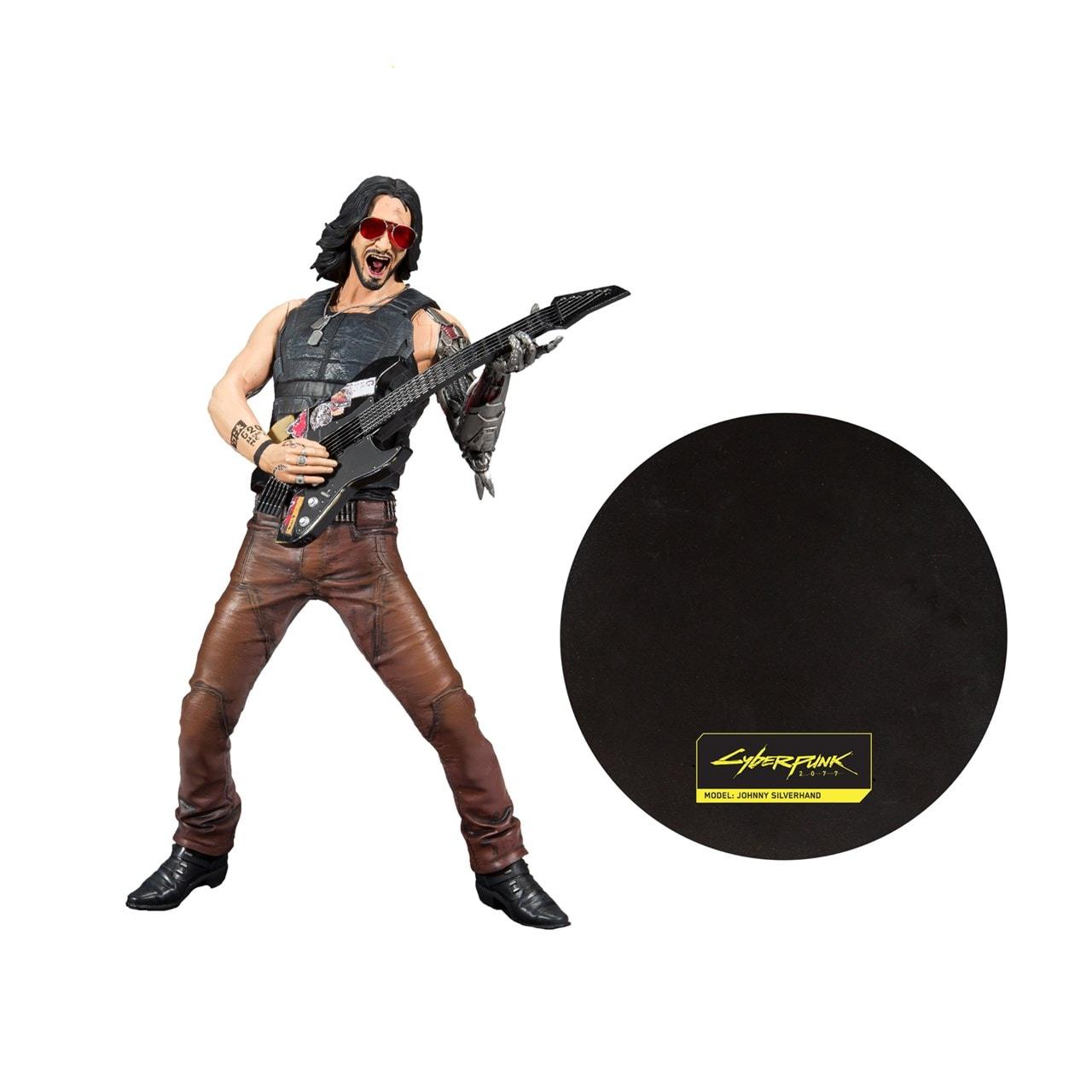 Cyberpunk 2077: Johnny Silverhand (Chrome Rock) Figurine - 3