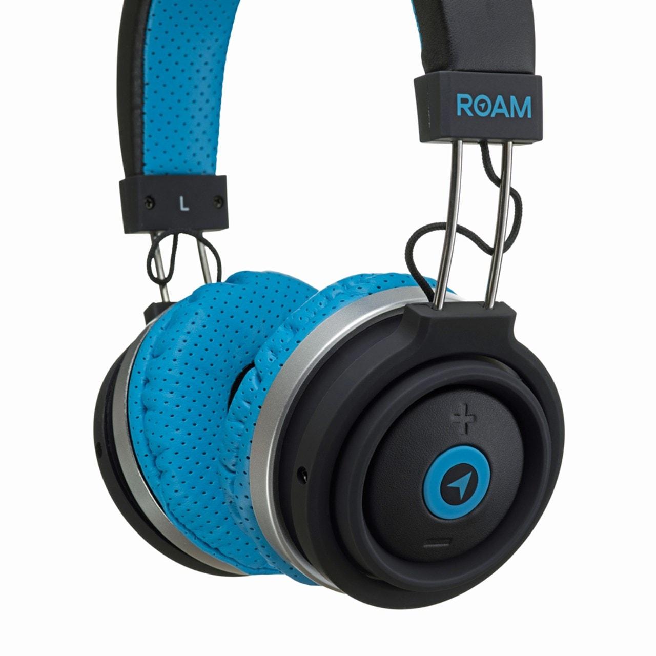 Roam Sport Blue Bluetooth Headphones (hmv Exclusive) - 2