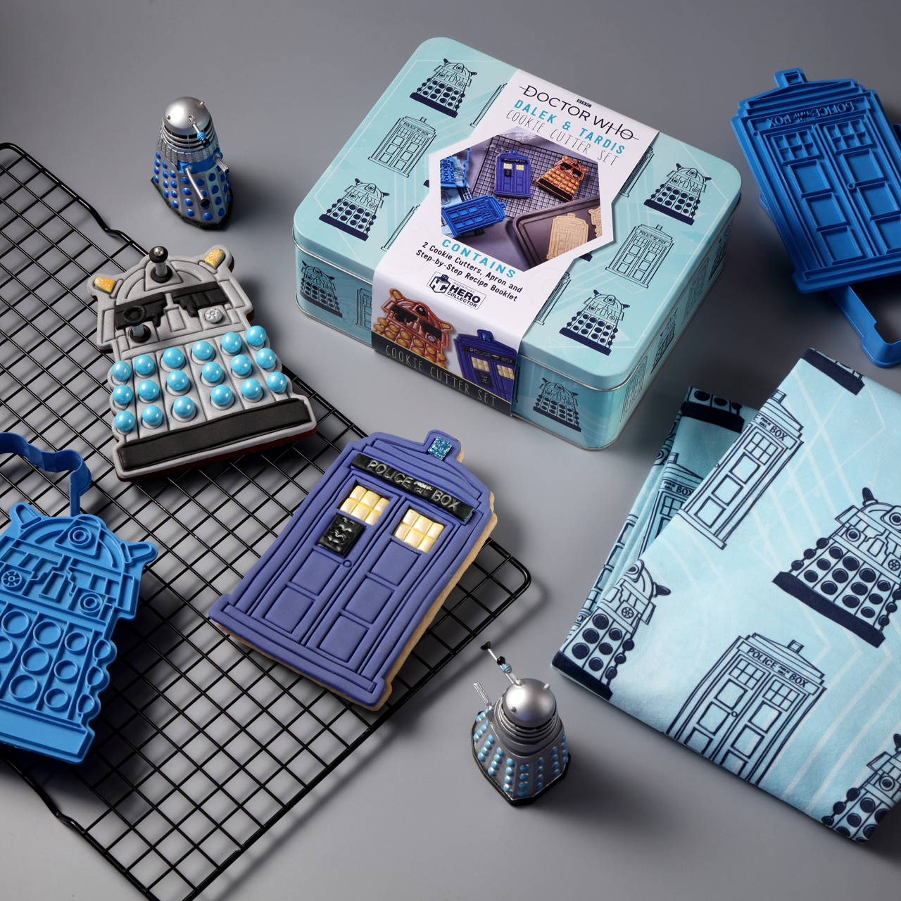 Doctor Who: Apron & Cookie Cutter Baking Set Hero Collector - 1