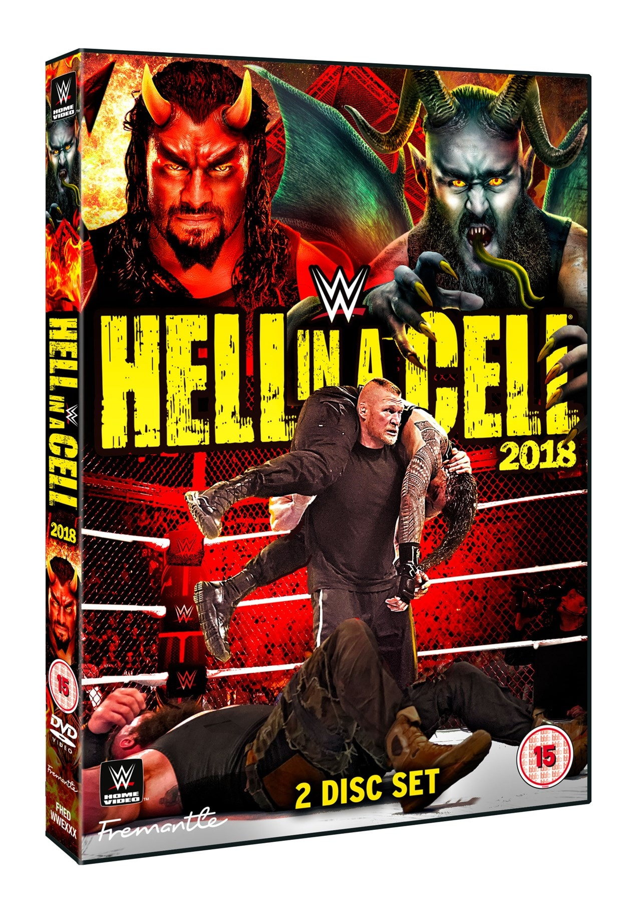 WWE: Hell in a Cell 2018 - 1