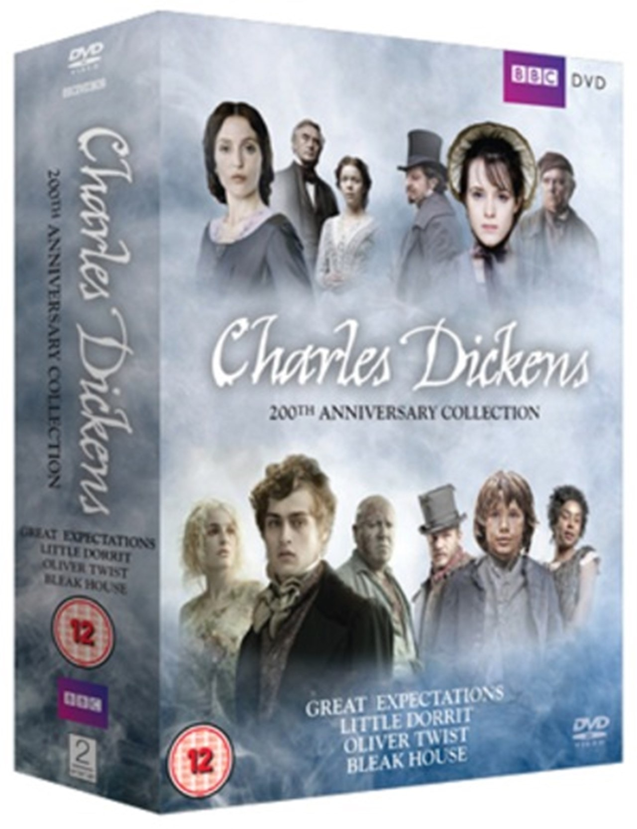 Charles Dickens 200th Anniversary Collection Dvd Box Set Free Shipping Over 20 Hmv Store