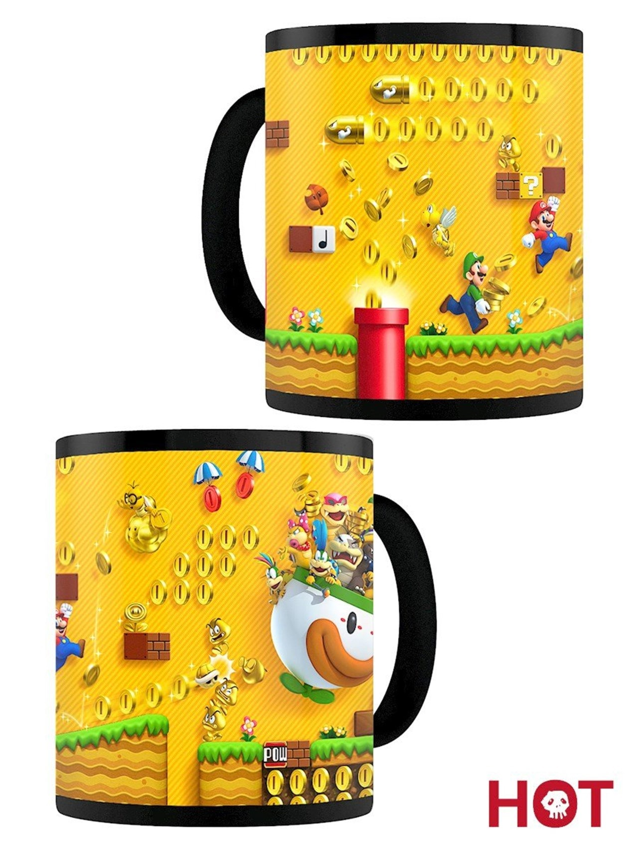 Super Mario Gold Coin Rush Heat Change Mug - 2
