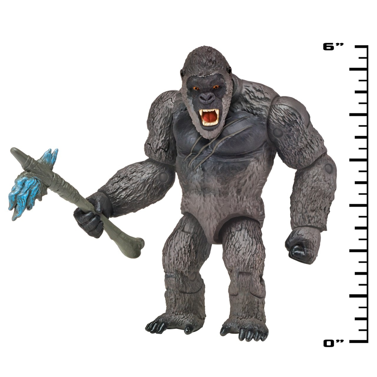 Monsterverse Godzilla vs Kong: King Kong with Axe Action Figure - 3