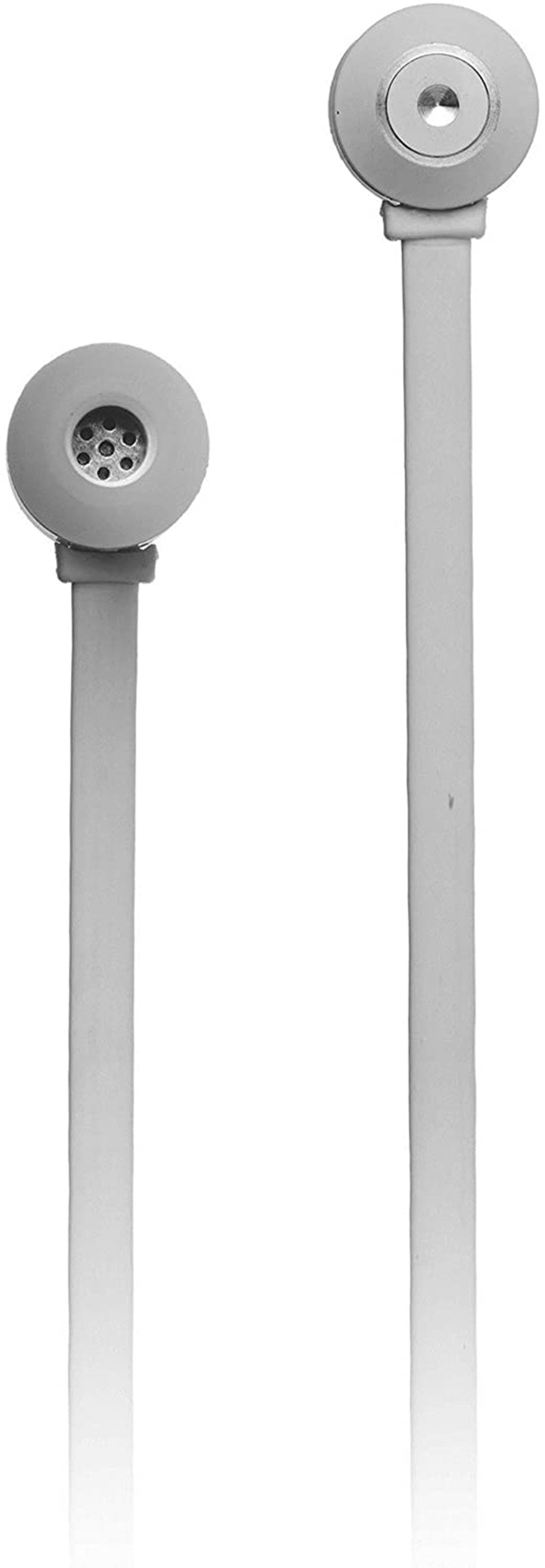 KitSound Ribbons Silver Bluetooth Earphones - 2