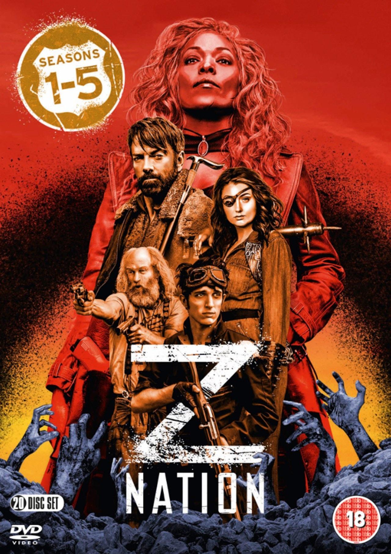 Z Nation: Seasons 1-5 - 1